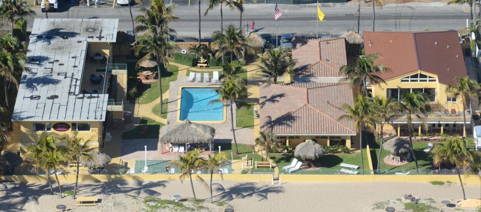 Ebb Tide Resort Panoramic View Beach