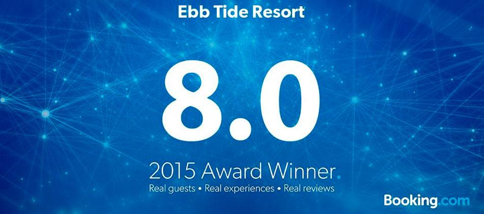 Ebb Tide Resort 2015 Award Winner